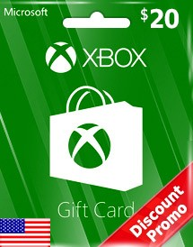 Xbox Gift Card  20  usd USA Store